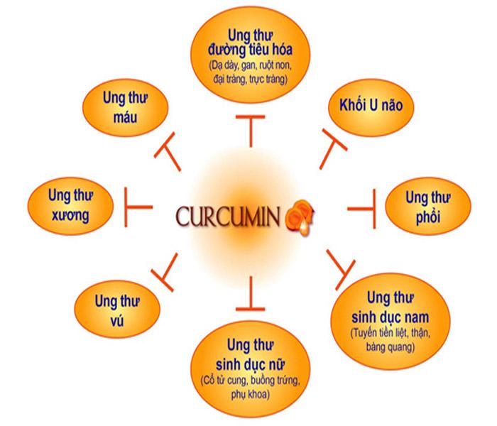 Thông tin về thuốc Nano Curcumin Tam thất xạ đen Học Viện Quân Y.