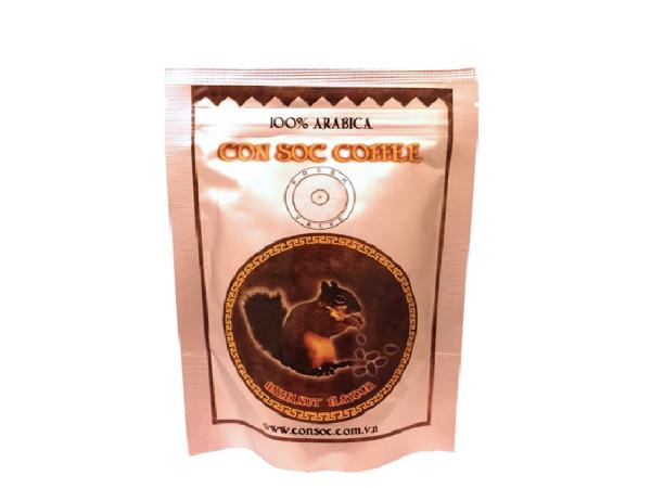 Cà phê Con Sóc pha phin BỊCH NÂU 500gr