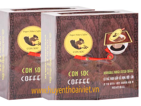 Cà phê Con Sóc ĐÔI ĐEN - 20 gói