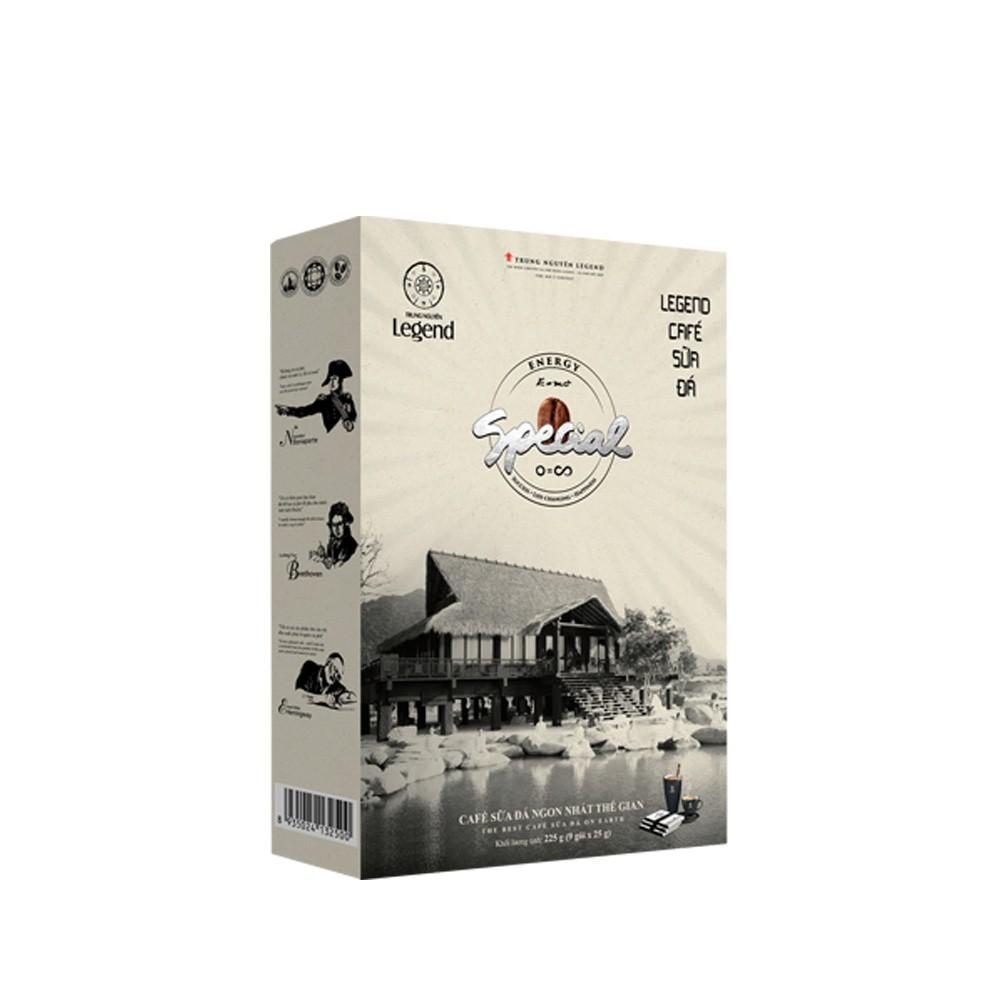 Cà phê hòa tan Legend sữa đá Trung Nguyên
