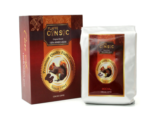 Cà phê Con Sóc Flaffee Arabica 500gram